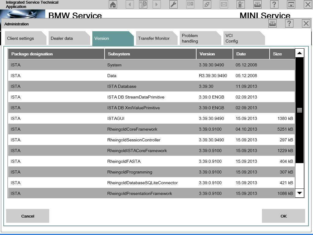 BMW ICOM Software ISTA-D 3.39.30, ISTA-P 2.50.4.002 (2013.10)Offline Version Released!