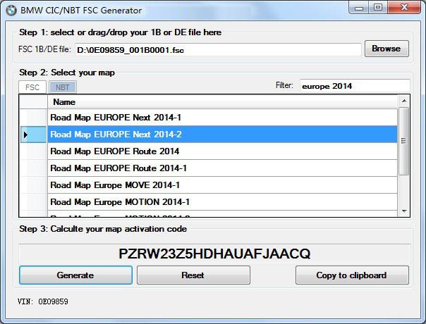 BMW FSC Active key