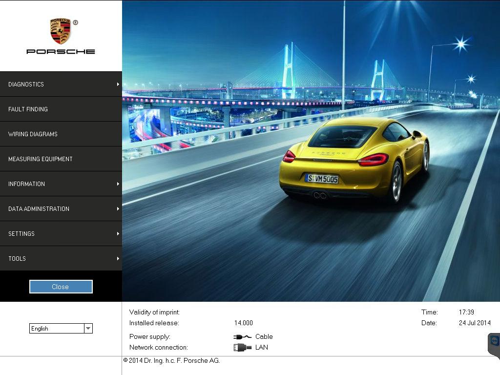 Porsche piwis ii v14.000