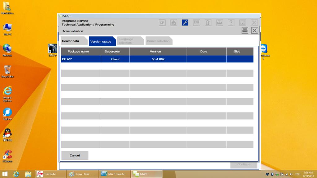 BMW ICOM Win8.1 ISTAP 53.4.002