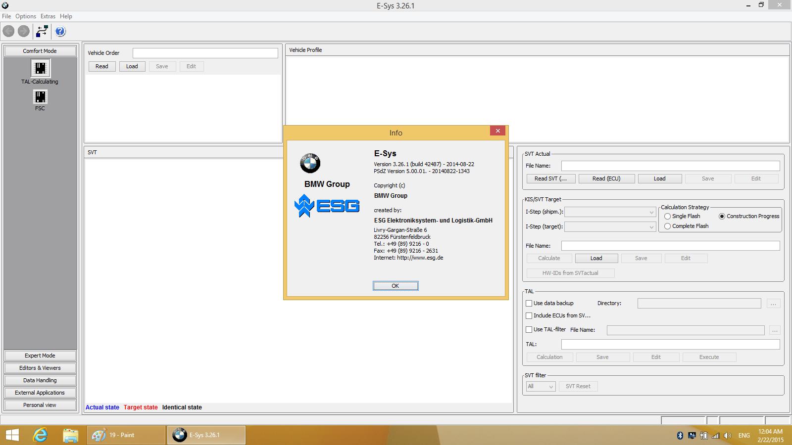 Super iCOM ISPI NEXT Esys 3.26.1