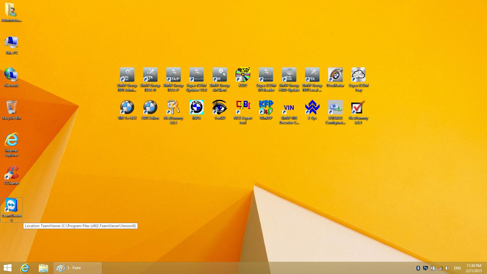 Super icom ISPI NEXT Desktop Perview