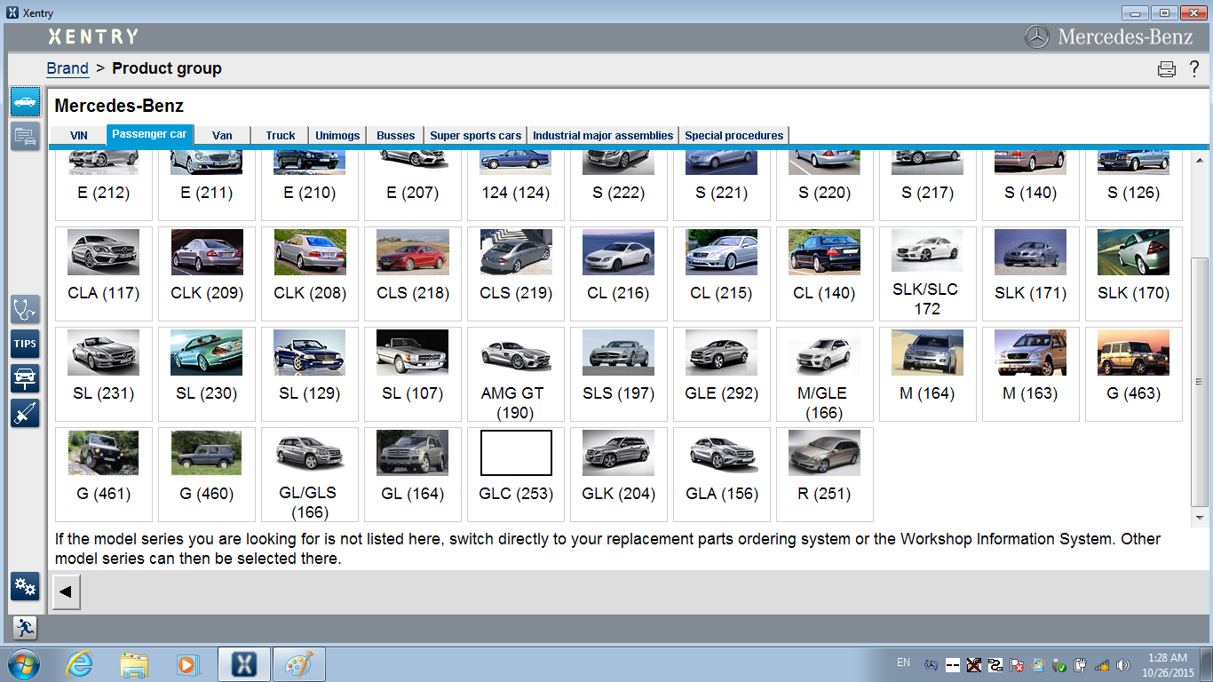 Benz WIN7 Xentry