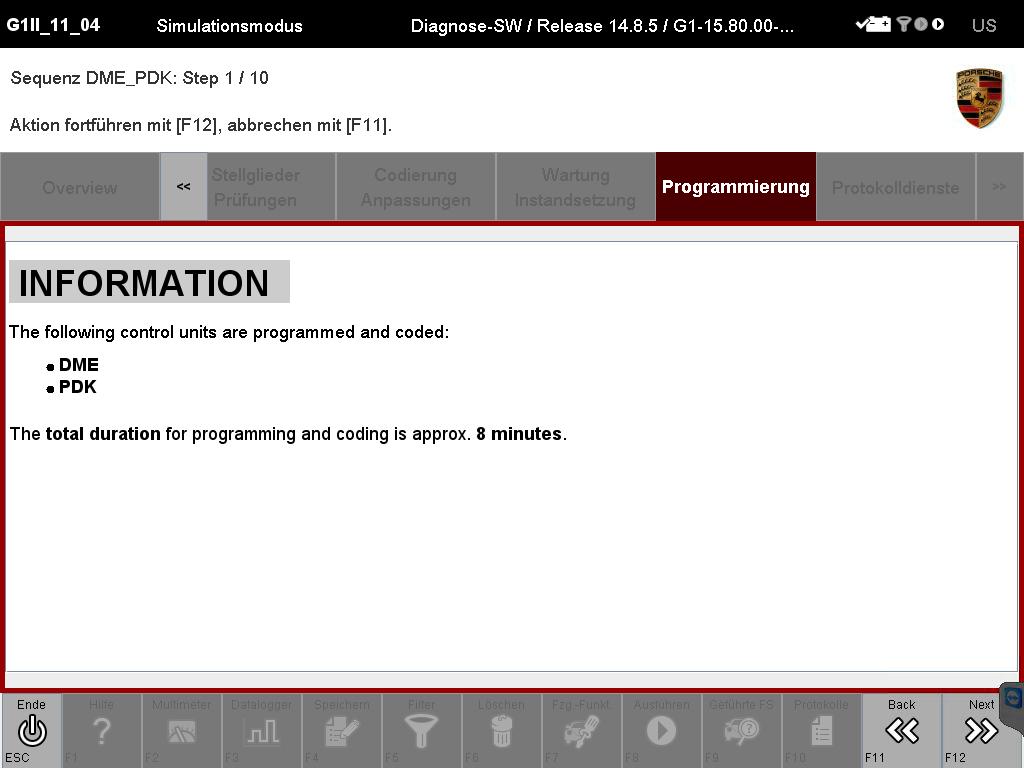 PIWIS TESTER II Developer mode V16.200