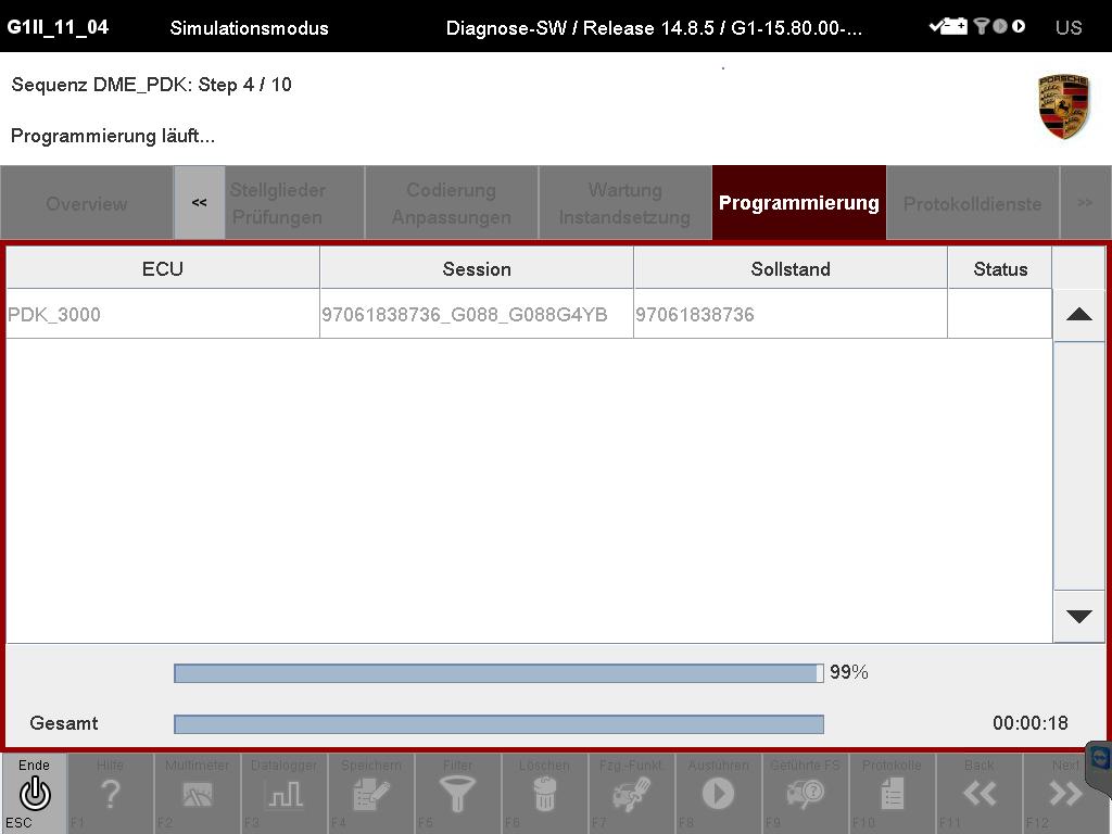 Piwis 2 developer mode offline programiing