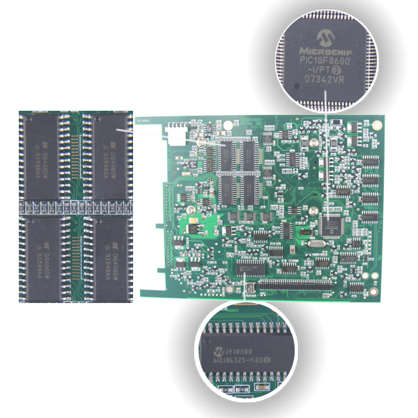 SD Connect C4 Interface Second PCB Board