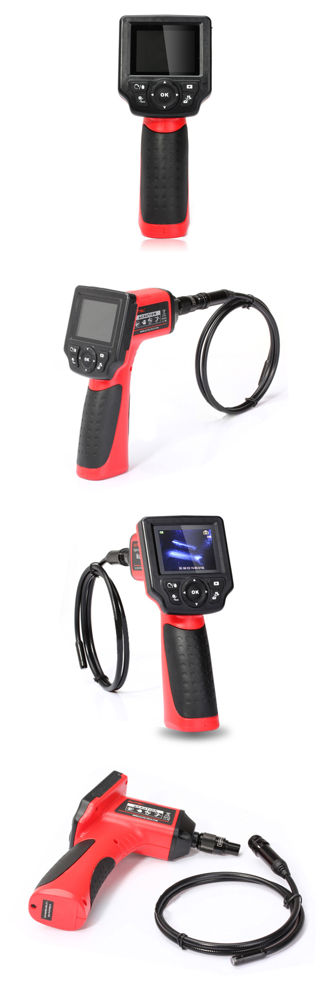 Autel Maxivideo MV208 Interface