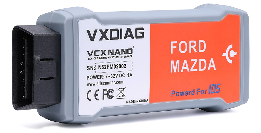 VCX NANO IDS Interface Front