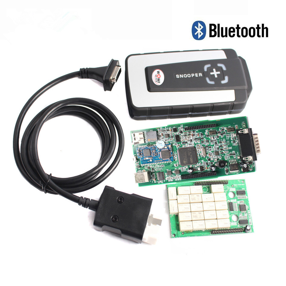 Wow Snooper Double PCB with Bluetooth