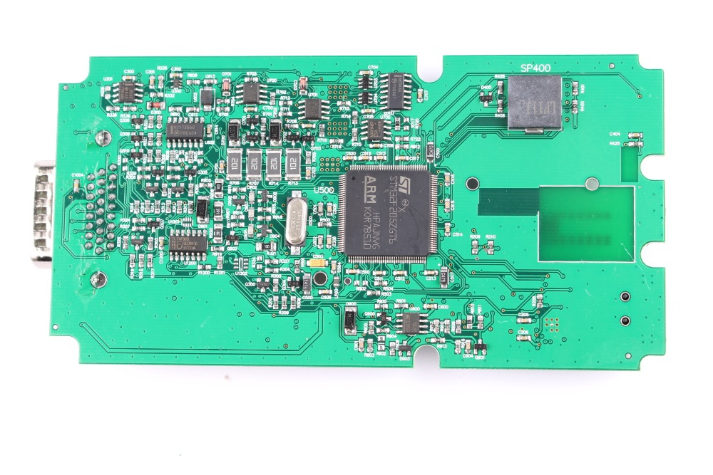 Wow Snooper Singel PCB back