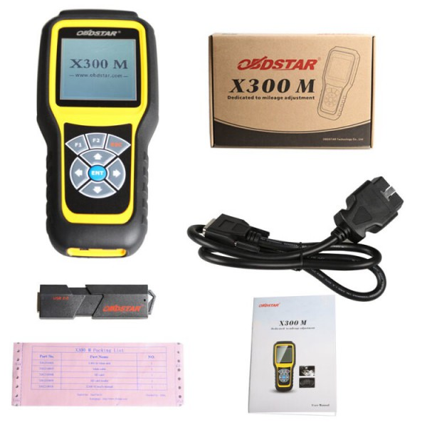 OBDSTAR X300M Mileage Tool Whole Package