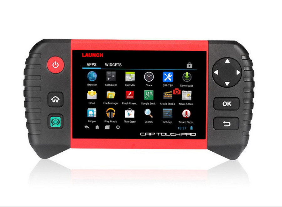 Launch CRP Touch Pro Interface