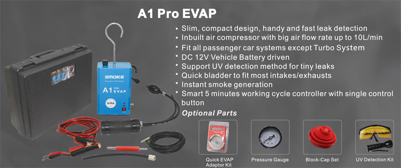 SMOKE A1 Pro EVAP Cheif Instruction