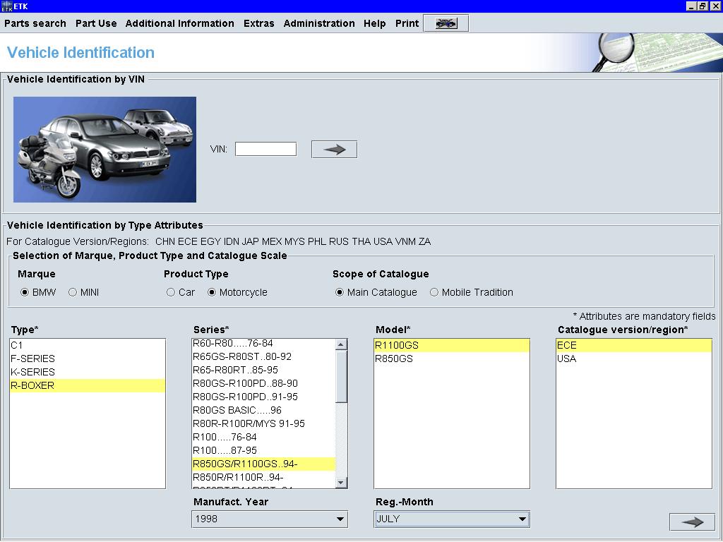 ETK Moto List