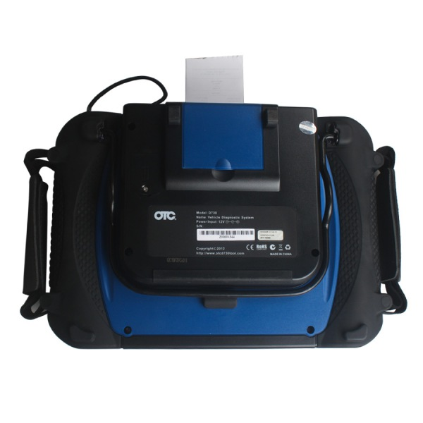 SPX AUTOBOSS OTC D730 Interface Back
