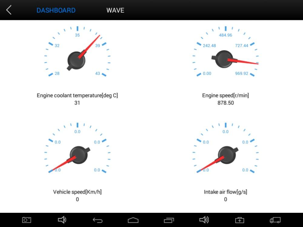 XTOOL EZ500HD Accurate live Data