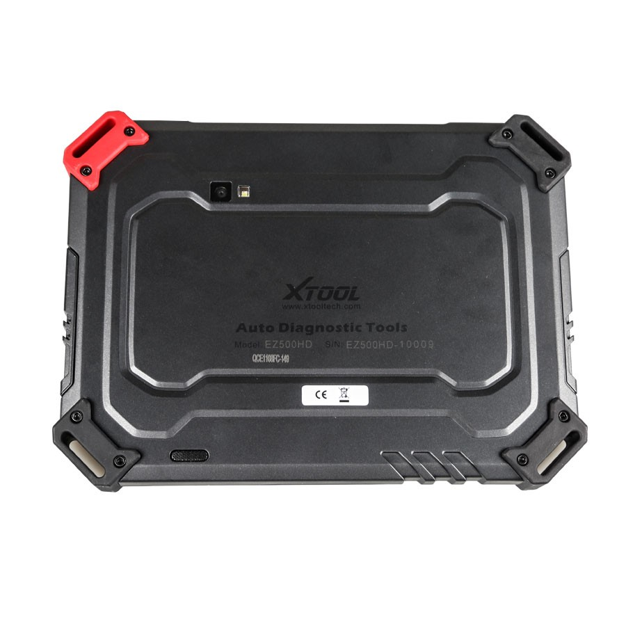 XTOOL EZ500HD Interface Baackside