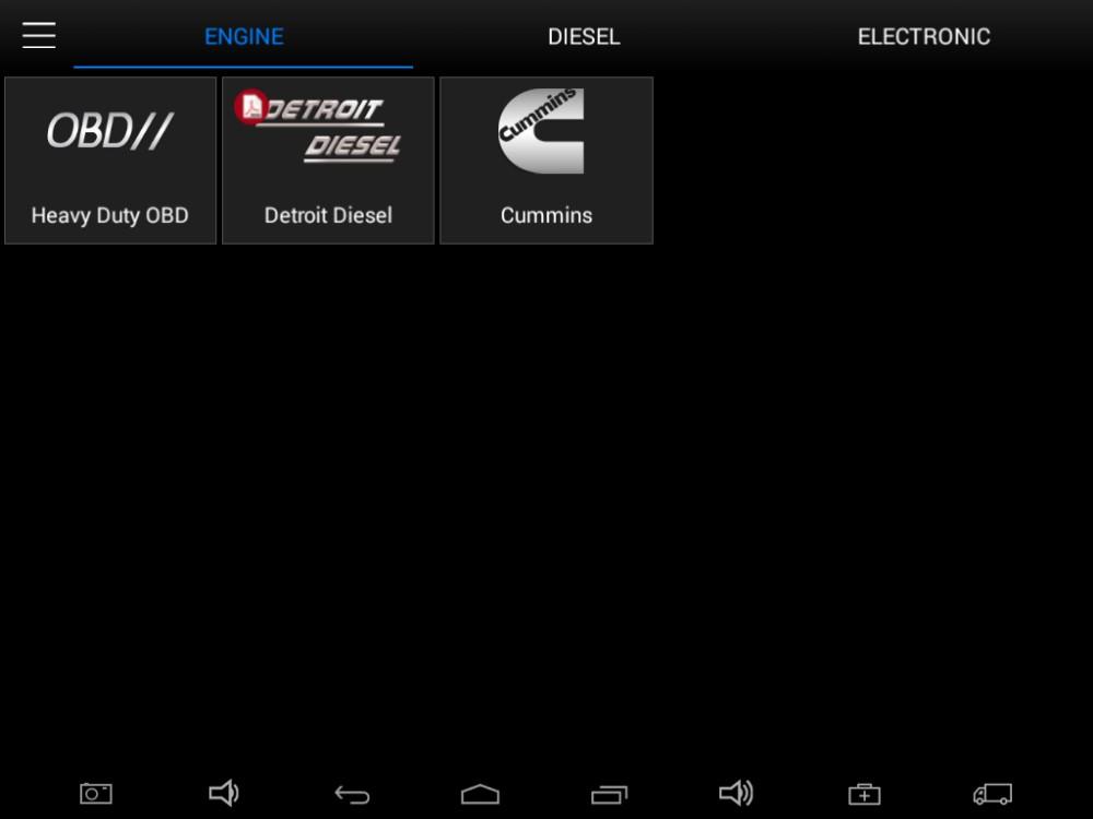 Xtool EZ500 HD for Truck via ENGINE