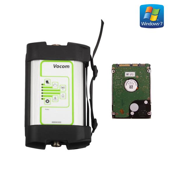 Volvo Vocom 88890300 Interface With PTT 2.04 Preinstalled in HDD