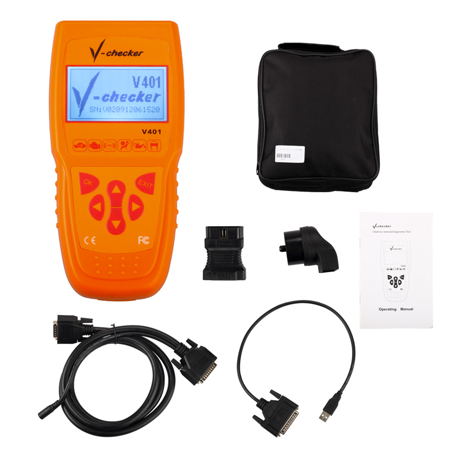 V-CHECKER V401 Whole Package