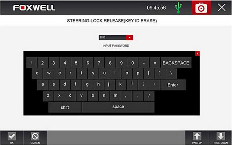 Foxwell GT80 + Keyboard