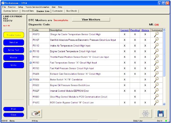 Toyota IT3 OTC Software