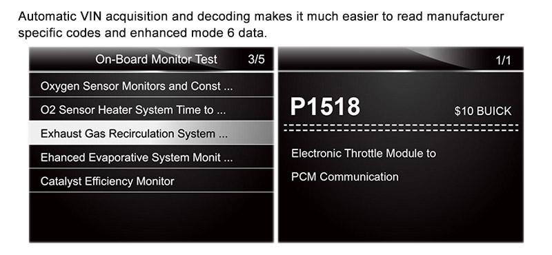 NT301 Test result