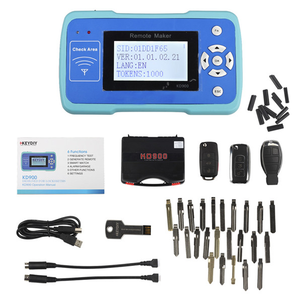 KD900  Key Remote Maker Whole Package