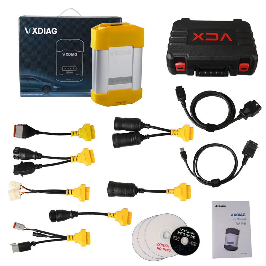 VXDIAG VCX HD Whole Package