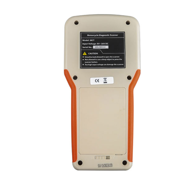 MCT500 Interface Backside