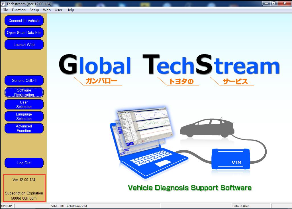 Toyota Techstream V12.00.124 Japan Region