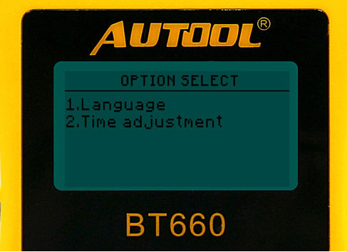 AUTOOL BT-660 Car Battery Tester Special Function