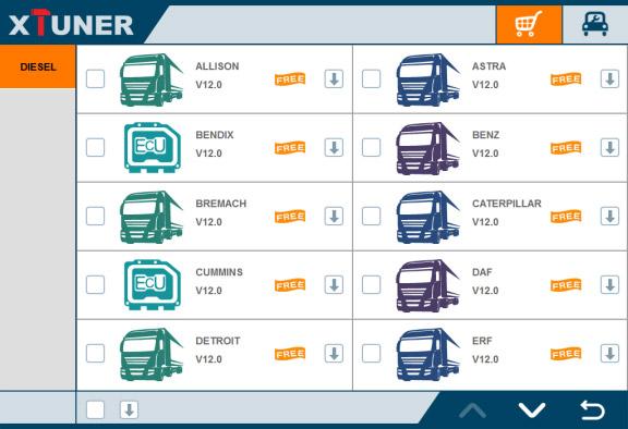 XTUNER T1 Truck List-2