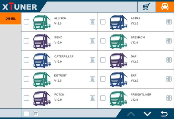 XTUNER T1 Truck List-1