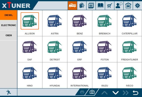 XTUNER T1 Truck List-3