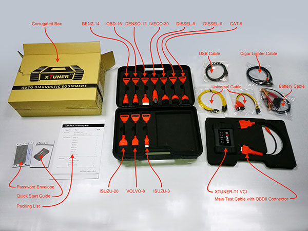 XTUNER T1 Whole Package