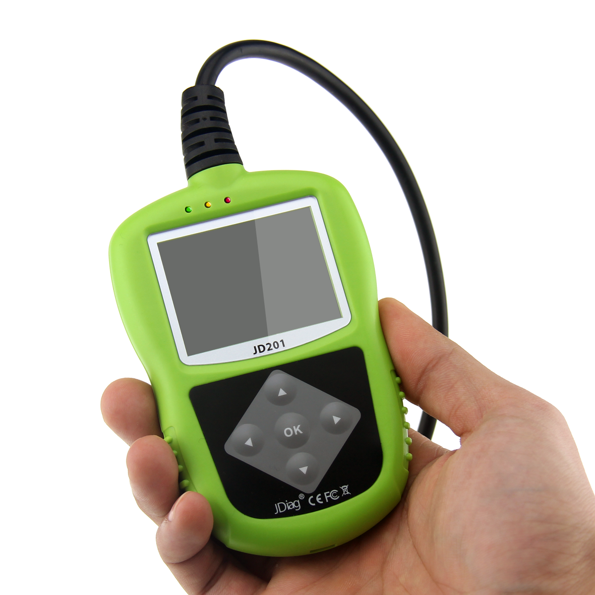 JDiag JD201 Code Reader Small to Handle