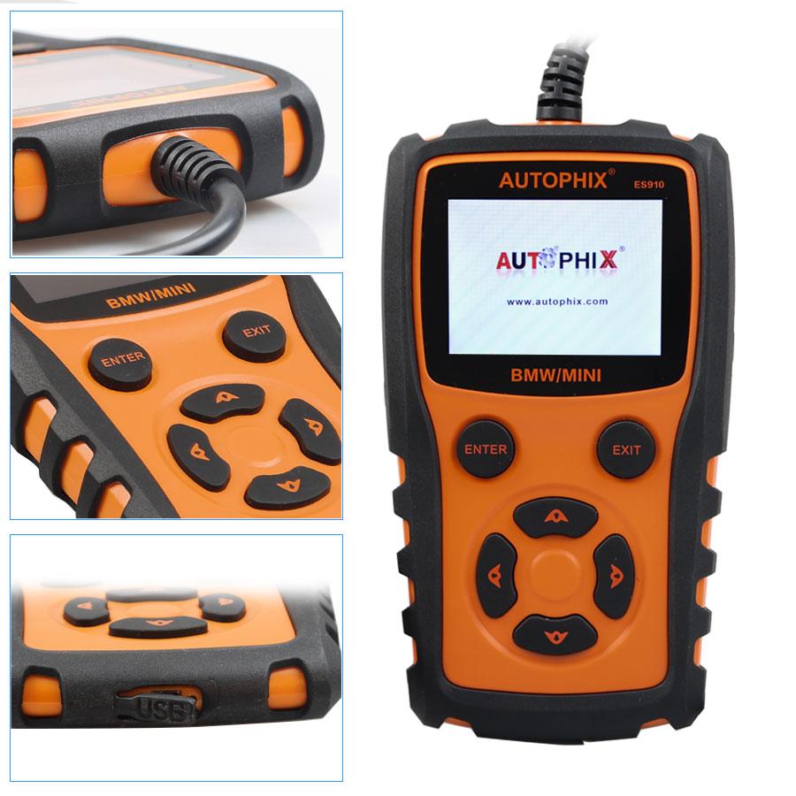 Autophix Es910 Car Obd Diagnostic Repair Tool For Bmw Mini