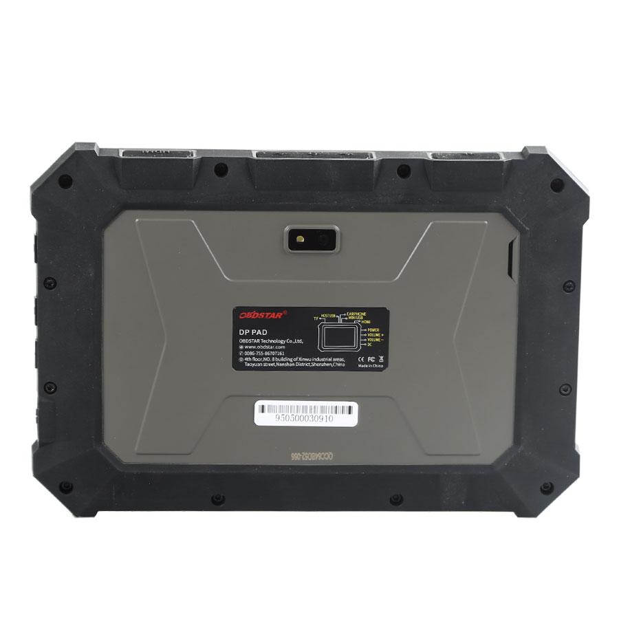 Obdstar DP PAD Tablet Back