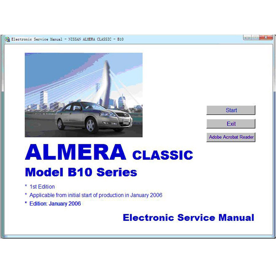 Nissan Repair Manual Electronic Service Manual