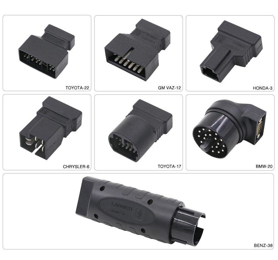 X431 Pro Mini Adapters