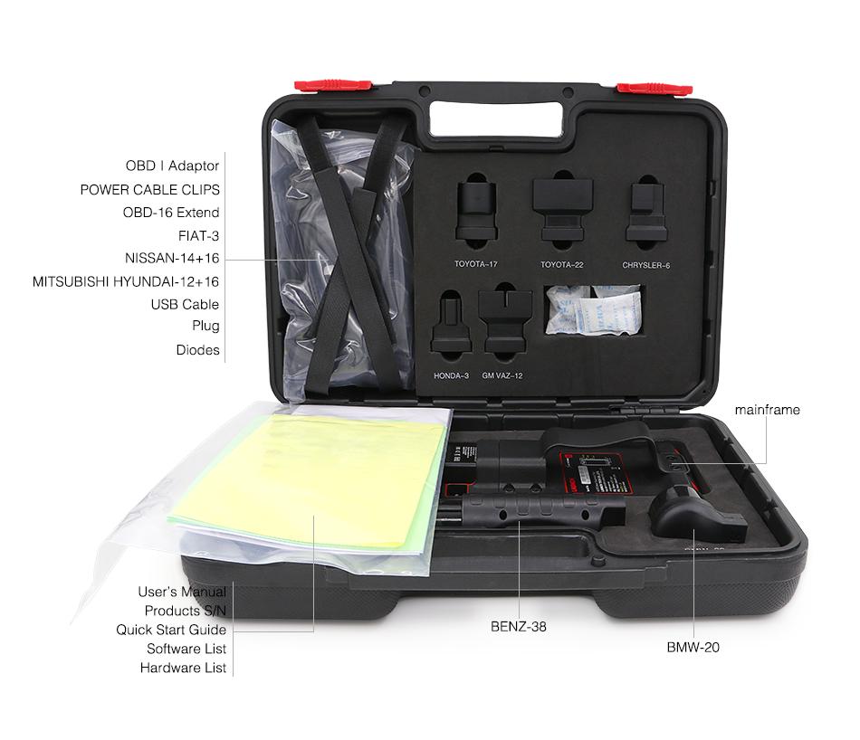 X431 Pro Mini Plastic Box