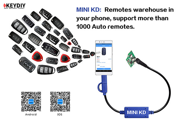 Keydiy Mini KD Software