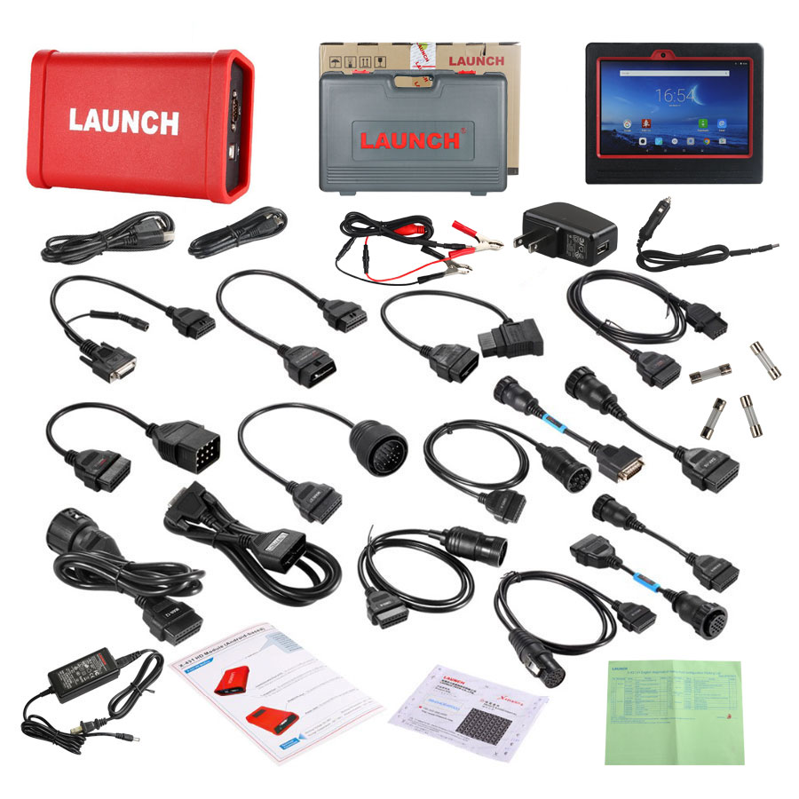 Launch X431 V Plus HD Module Heavy Duty Whole Package