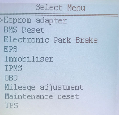 Super SBB2 Key Programmer Functions