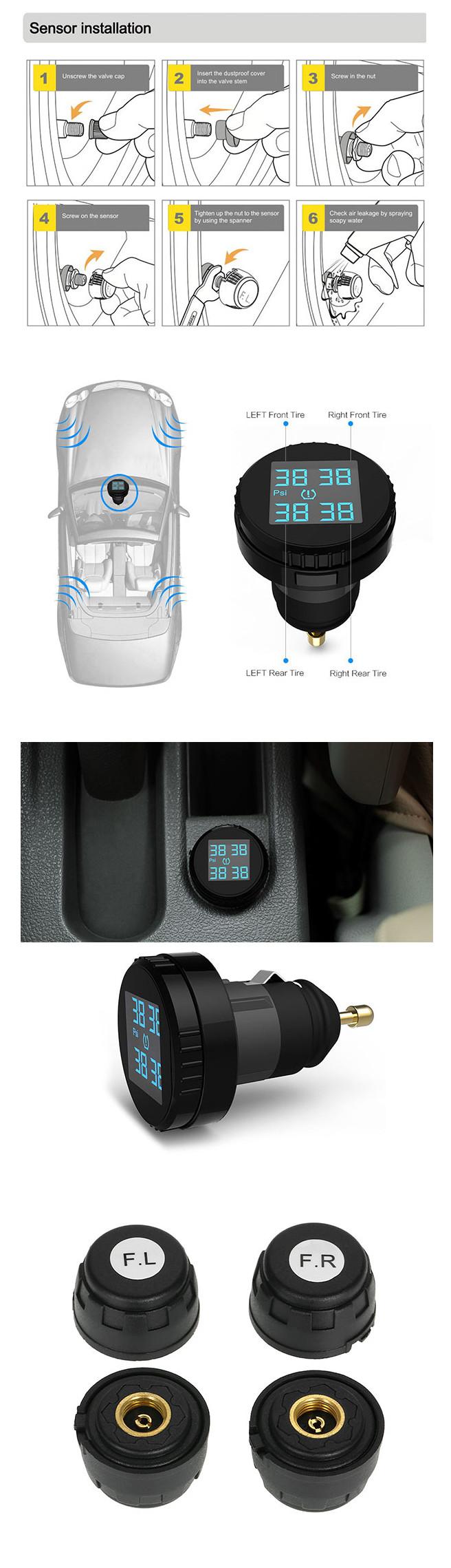 KOLSOL TS61 Sensor Installation Instruction:
