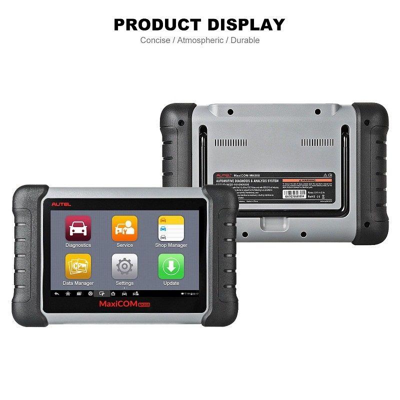 Autel MaxiCOM MK808 Interface