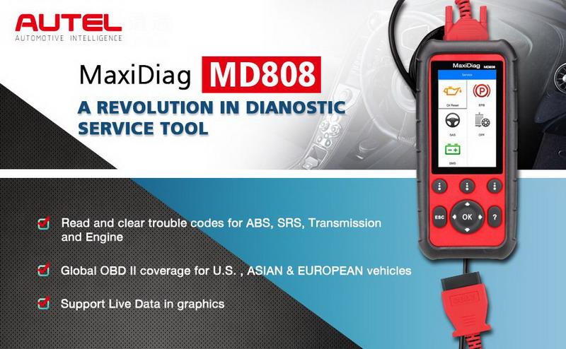 Autel MaxiDiag MD808