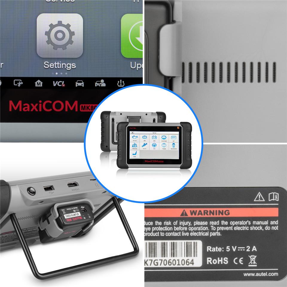 Autel MaxiCOM MK808TS Interface