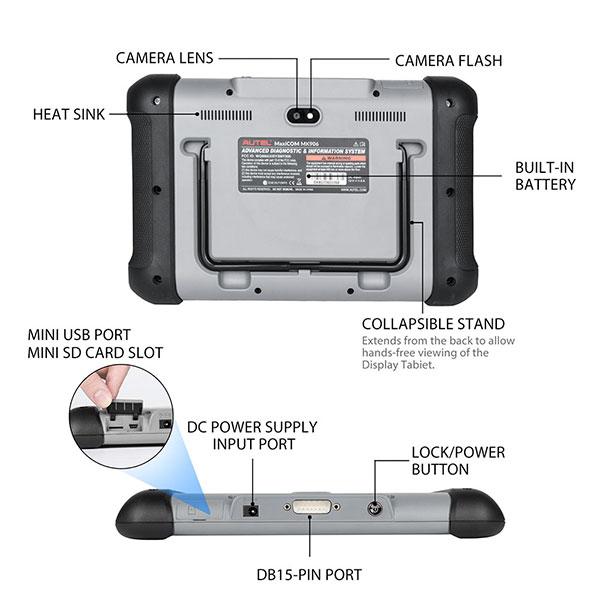 AUTEL MaxiCom MK906 Interface